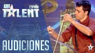 Un instrumento insólito sorprende a los Jueces   Audiciones 1   Got Talent España 2016