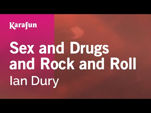 Karaoke Sex And Drugs And Rock And Roll - Ian Dury * Mp3