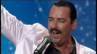 Australias Got Talent 2011 Episode 3 - Thomas Crane 'Freddie Mercury'
