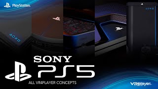 PS5 PlayStation 5 Trailer - ALL CONCEPTS PS5 by VR4Player