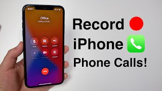 How to Record Phone Calls on iPhone!! (FREE & No Jailbreak)