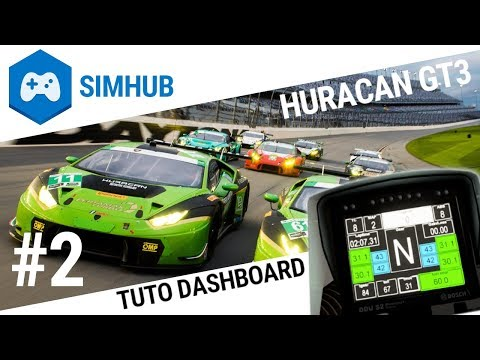 Assetto Corsa Competizione - SimHub - SimDashboard - смотреть онлайн