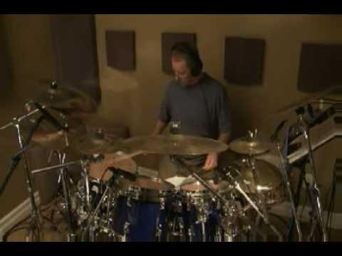 Phil Krawczuk Drum Solo in Emerald Ridge Studio 2008