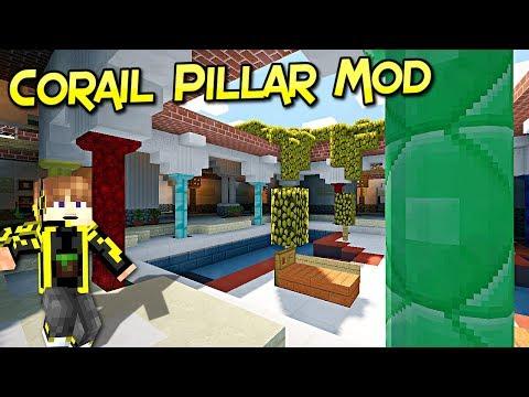 Corail Pillar Mod | Un pilar Para Tu Aventura | Minecraft 1.12.1 – 1.7.10 | Mod Review En Español