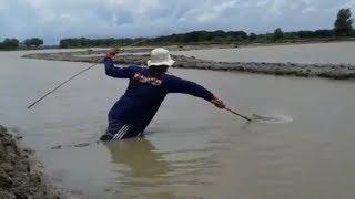 Mancing Kepiting Di Empang Menggunakan Umpan Belut 08/02/2017