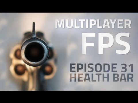 Making a Multiplayer FPS in Unity (E31. Health Bar) – uNet Tutorial examples