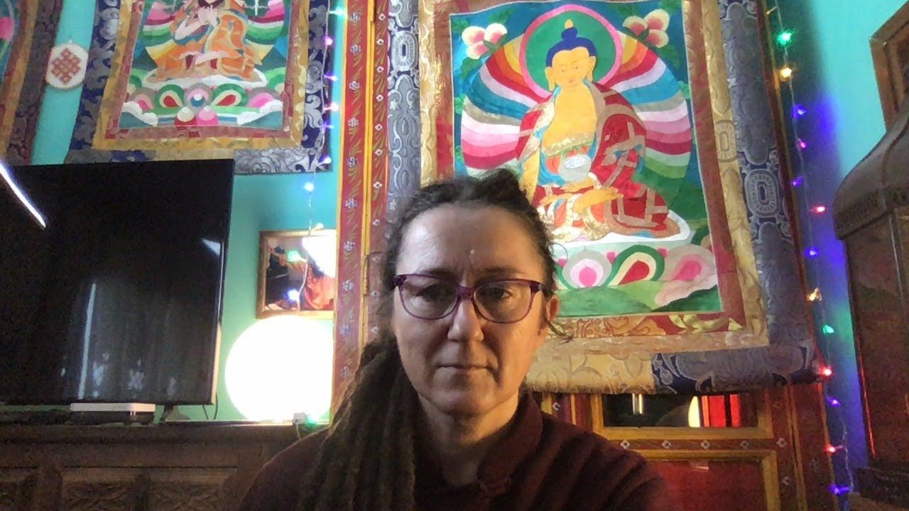 Lama Gangchen Tantric Self-Healing 2- Commentary by Lama Caroline - part 46 (EN)