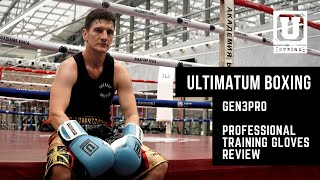 Ultimatum Boxing Professional Training Gloves Gen3Pro review
