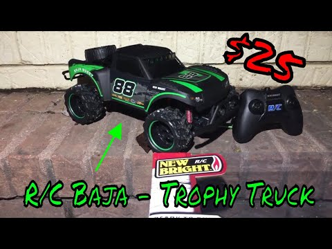 New Bright – R/C Baja -Trophy Truck Review