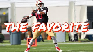 Why Jimmy Garoppolo is the Favorite to Win the 49ers Quarterback Competition