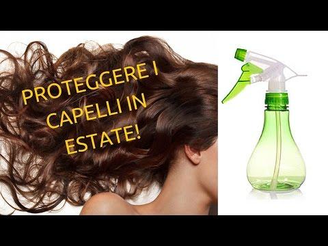 Erbe per trattamento di capelli