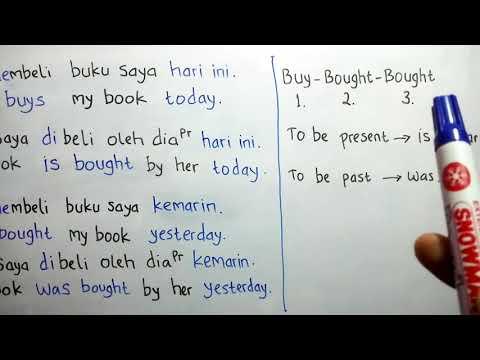 Cara mudah dan cepat menterjemahkan bahasa Indonesia ke bahasa Inggris dengan metode Mr. Radja