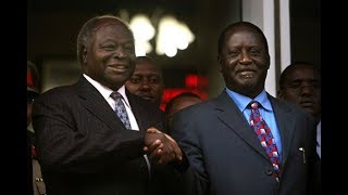 Developing Story: Raila Odinga meeting Former President Mwai Kibaki