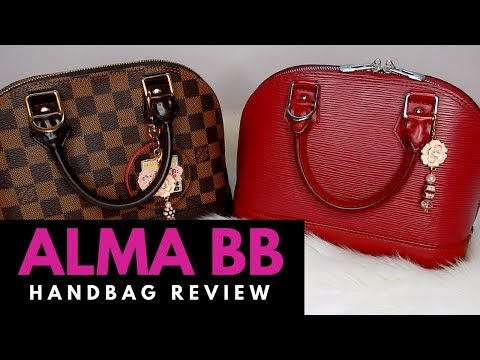 HANDBAG REVIEW | Louis Vuitton Alma BB