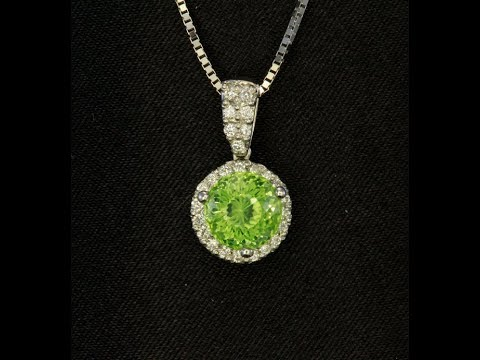 Peridot Pendant 2.18 Carat From Pakistan
