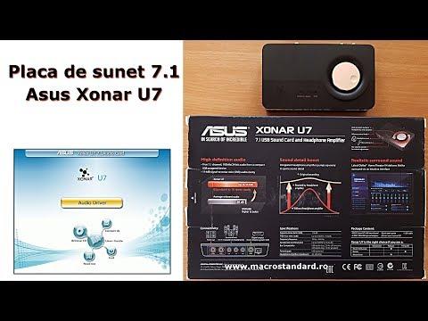 Placa de sunet 7.1 Asus Xonar U7