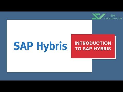 SAP Hybris Tutorial For Beginner   Introduction To SAP Hybris ...