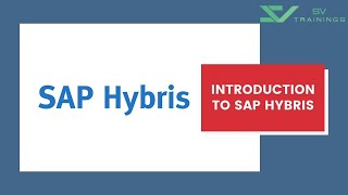 SAP Hybris Tutorial For Beginner  | Introduction To SAP Hybris