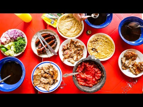 Unbelievable Mexican Food – FIRE GRILLED MEAT + Cenote and Chichen Itza in Yucatán, Mexico!