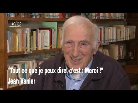 """Jean Vanier : """"tout ce que je peux dire, c'est : merci !"""""""