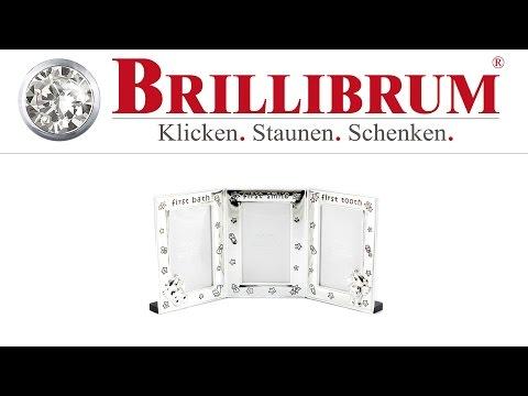 3er BABY BILDERRAHMEN RAHMEN VERSILBERT ONLINE KAUFEN | BRILLIBRUM ONLINE SHOP