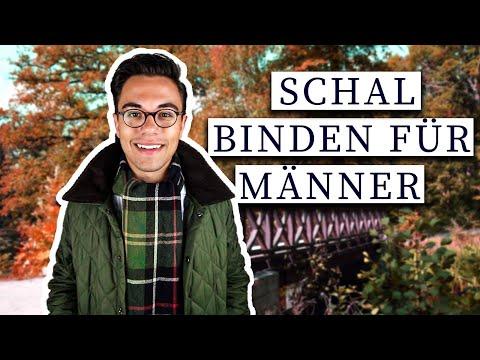 5 Methoden einen Schal zu binden für Männer | Anleitung für Herren am klassischen Barbour Schal
