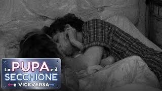 La Pupa e il Secchione e Viceversa - Il bacio tra Stella Manente e De Benedetti
