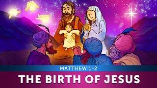The Birth of Jesus for children - Matthew 1-2 | Bible Video for Kids | Sharefaithkids.com