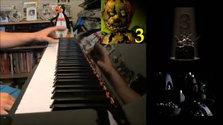 "FIVE NIGHTS AT FREDDY'S 3 SONG - ""It's Time To Die"" - DA Games (Advanced Piano Cover) + DOWNLOAD"