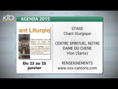 Agenda du 12 janvier 2015