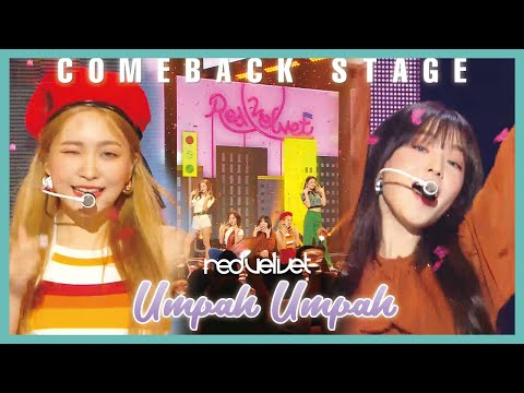 [Comeback Stage] Red Velvet - Umpah Umpah, 레드벨벳 - 음파음파 Show Music core 20190824