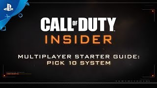 """Call of Duty: Black Ops 4 – MP """"Hot Tips: Pick 10"""" 