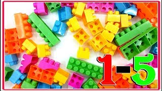 Building Blocks Video For Kids. Block Toys For Childreen