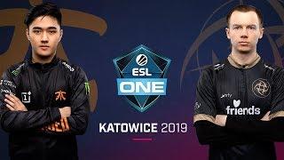 Dota 2 - NIP vs. fnatic - Game 1 - Group B Round 5 - ESL One Katowice 2019