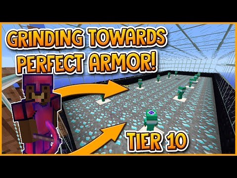 🔴 LIVE HYPIXEL SKYBLOCK | GRINDING TOWARDS PERFECT ARMOR (TIER 10) #Day6