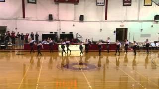 NCC Dance Team - Adele Rumor has it dance routine North Central College 2012 Naperville Il