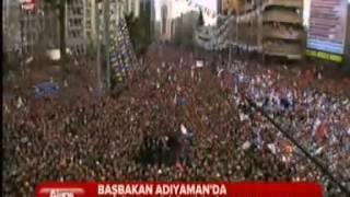 preview picture of video 'Başbakan Erdoğan, Adıyaman Miting Konuşması'