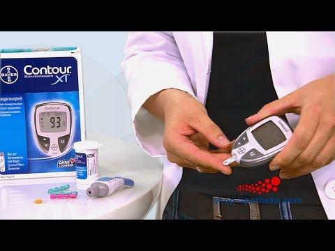 Mit Contour XT ganz einfach Ihren Blutzucker messen
