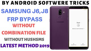 Download Samsung J6 J8 frp bypass without pc || latest Method 2019