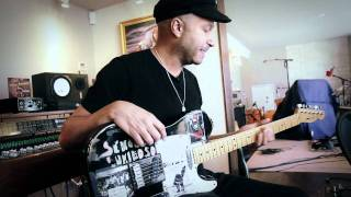 A Tour Of Tom Morello's Guitars & Home Studio