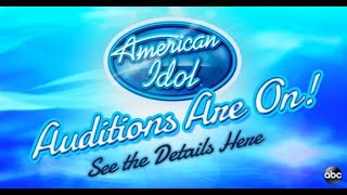 Audition NOW for AMERICAN IDOL - Coming to ABC in 2018