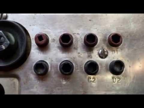 Radio militar receptor BC-728 Segunda Guerra Mundial Jeep
