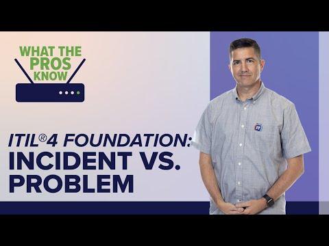 IT Incident Management vs. Problem Management - ITIL4 - YouTube