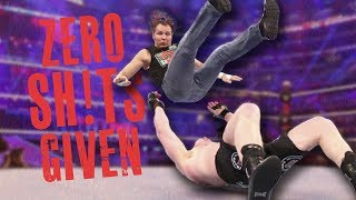 WWE Wrestlers Who BROKE Kayfabe & Didn't Care About Their Match (Went Off Script - Zero F**** Given)