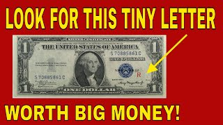 Rare dollar bills worth a lot of money! Rare currency to look for!