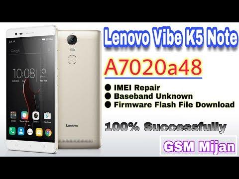 Repair Imei Lenovo Vibe K5