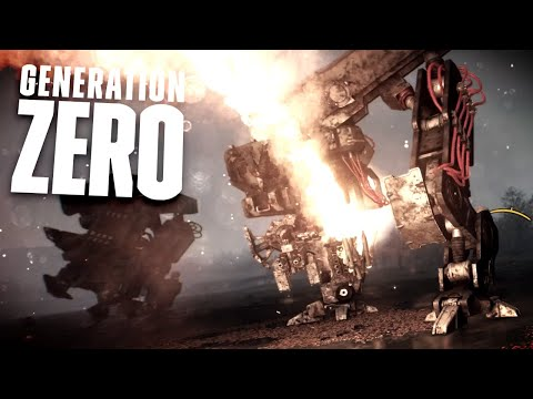 THERE IS NO SURVIVING THESE NEW MACHINES - Massive Airbase Battle! - Generation Zero Gameplay