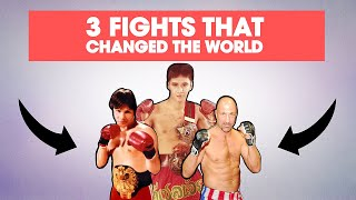 3 Muay Thai vs. American Kickboxing Fights That Changed The World