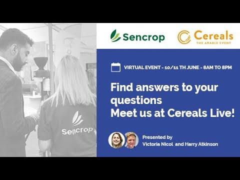 Sencrop Cereals Live 2020