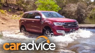 2016 Ford Everest/Endeavour — Terrain Management System (TMS) Off Road Review